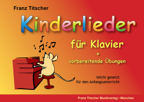 Kinderlieder für Klavier Cover