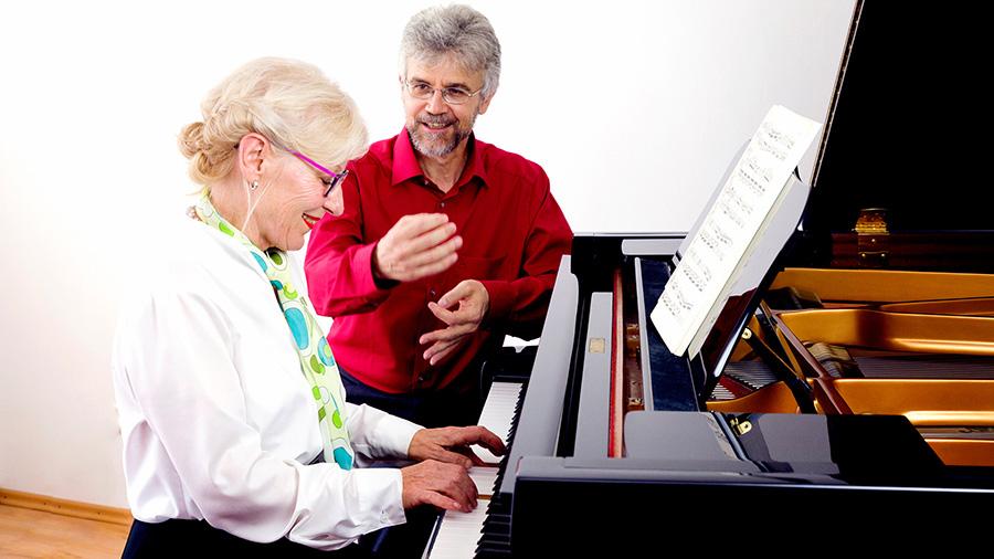 klavier lernen Erwachsene